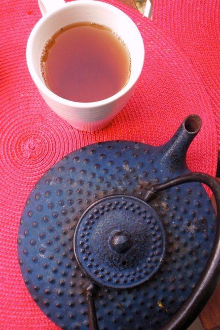 thé boisson chaude