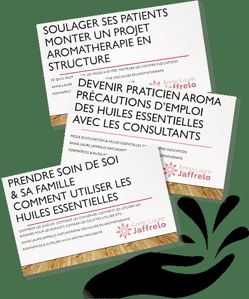 Téléchargez les guides d'Anne-Laure Jaffrelo, naturopathe, spécialisée en aromathérapie
